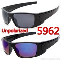 ingrosso occhiali da sole bici uv-Marca CALDA ciclismo all'aperto Sport ok occhiali da sole occhiali da sole UV di alta qualità da equitazione occhiali da bici da mountain bike occhiali da sole all'ingrosso Y5962