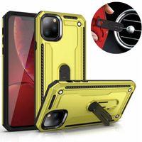 Wholesale car vent phone clip online – For Samsung Galaxy M10 M20 M30 A10 A10S A20 A20S A30 A30S A40 A40S A50 A50S A70 A80 A90 Car Vent Kickstand Phone Case Newest Hybrid Cover