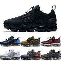 0018c703d17c7 Wholesale vapor shoes online - 2019 Run Utility Running Shoes For Men  Triple White Black vapors