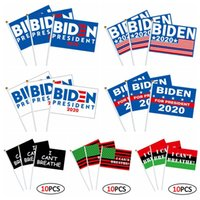 Wholesale waving flags for sale - Group buy 10pcs set I CAN T BREATHE WAVING FLAG cm BIDEN WAVING FLAG USA Election Flag Hands Shaking Banner Flags Styles GGA3431