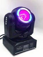 mini feixe de luzes móveis venda por atacado-Mini led feixe de 60 W móvel com efeito Halo RGBW 4em1 feixe de luz moving heads luzes super brilhante LED DJ dmx luz de controle