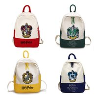 Wholesale storage bags for sale - Group buy Harry Potter Backpack Teenagers Schoolbag Laptop Bag Student School Bag Travel Portable Storage Bags Organizer styles RRA1567