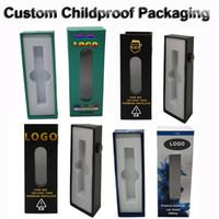 Wholesale custom tube for sale - Group buy Custom Logo Childproof Packaging Box Glass Tubes Vape Cartridges Syringes with Window Blister Pack Magnetic Box E Cig Vaporizer OEM Package