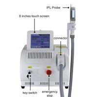 satılık epilasyon makineleri toptan satış-2019 sıcak satış yüksek kaliteli Bir Kolu OPT IPL lazer Güzellik ekipmanları Ağrısız epilasyon makinesi