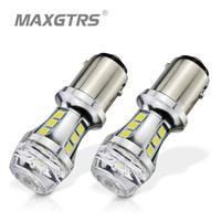 1//2X 1157 P21//5W BAY15D 5050 SMD 18 LED Canbus Car Turn Signal Brake Tail Light