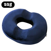 Wholesale massage chair pillow resale online - AAG Donut Seat Cushion Ring Pillow Orthopedic Car Office Couch Chair Bottom Massage Pad Health Care Soft Sitting Pillow Cushion