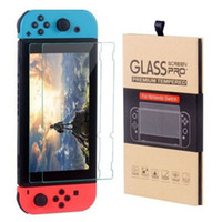 For Nintendo Switch Tempered Glass Screen Protector Film 2.5D 9H Premium With Retail Package