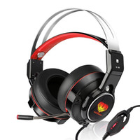 Wholesale computer headset usb wired for sale - Group buy SL Stereo Gaming Headset with Retractable Mic Gaming Computer Headphones USB LED Headset for Xbox One Video Games PS4 PC