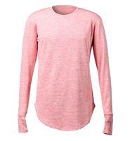 2019 New Fashion Brand T-Shirt Estendere Hip Hop Street T-Shirt da uomo  manica lunga Oversize Design Hold Hand all ingrosso fbc6e90766a