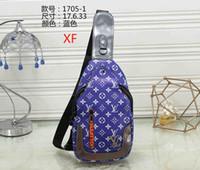 männer europäische schultertaschen großhandel-Europäische und amerikanische Mode Männer und Frauen Designer Handtasche Schulter Umhängetasche Brust Tasche Druck Mutter Tasche