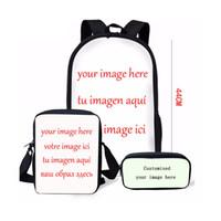 Wholesale custom backpacks resale online - Coloranimal Custom Backpack for Boy Girl Large Set Orthopedic Schoolbag Children Cartoon Printed Infantil Mochilas Bagpack