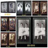 Wholesale picture frame for sale - Group buy 3D Ghost Photo Frame Horror Pictures Frames Changing Face Ghost Halloween Party Decoration Halloween Bar Home Decoration Prop VT0554