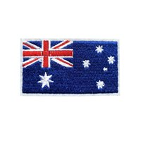 d5a7390cd84 7CM Embroidered Australia Flag Patches Sew Iron On Badges For Bag Jeans Hat  T Shirt DIY Appliques Craft Decoration