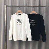 tipos suéteres al por mayor-Nuevo tipo de punto jersey de algodón de doble cara Jacodequard Tejido de punto con Perfect detalles de calidad para hombres y mujeres parciales grande 065