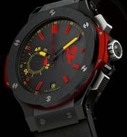 kol saati toptan satış-2019 Tasarımcı Kırmızı Mens 2813 Otomatik hareketi İzle Lüks Öz-rüzgar erkekler Mekanik Saatler Moda Spor SS Saatı