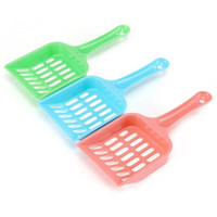 Wholesale pet poop scoop resale online - Plastic Cat Litter Scoop Portable Cat Cleaning Shovel Dog Pet Poop Waste Scooper Easy to Clean ZC1351