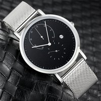 Wholesale platinum high end watches for sale - Group buy 2019 luxury men and women electronic watchs boutique fashion casual business watch high end waterproof watch SS level