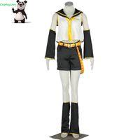 cosplay de navidad vocaloid al por mayor-CosplayLove Vocaloid Kagamine Rin cosplay por encargo para Halloween Navidad