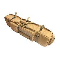 naylon taşıma çantası toptan satış-Askeri Airsoft Savaş büyük kapasiteli muti-taşıma Taşıma 1000D Naylon Kılıf avcılık Taktik M249 Silah Çantası Toptan # 273421