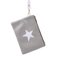 конструкция конверта мешка оптовых-Women Sport Clutches Bag Star Design Envelope Ladies Running Bags Soft PU Leather Sport Bags Ladies High Quality