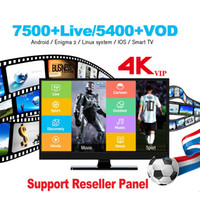 Wholesale android tv box india resale online - Europe subscription Android iOS Smart TV Box M3U K France Germany Spain Portugal Sweden Turkish India Russia Greece USA Canada Arabic Kid