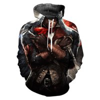 assassin creed hoodie al por mayor-Nueva venta caliente Assassins Creed novedad Streetwear sudadera con capucha hombres manga larga Casual 3D Imprimir Hoodies ropa Hiphop