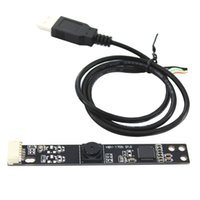 Wholesale webcam cable for sale - Group buy HM1355 USB2 Camera Module Set x1024 No Drive Webcam Board For Laptop Mini With Cable Professional Degrees Lens