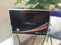 palos de golf de calidad al por mayor-Nuevas bolas de golf de calidad superior 12pcs / caja de tres piezas Ball V1 Golf PRO V1 Balls Clubs