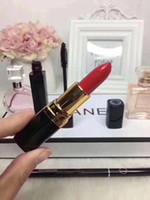 nuevas barras de labios al por mayor-2019 el más nuevo de marcas famosas de maquillaje conjuntos perfume lápiz labial delineador de ojos mascara 5 en 1 con caja de labios cosméticos dhl envío gratis