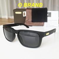 holbrook sonnenbrille polarisieren großhandel-2019 holbrook o marke Mens Design Mode Sonnenbrille Rahmen Polarisierte Linse NEW9102 New Outdoor Brille Freies Verschiffen Mit Original box VR46