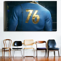 Wholesale modern fashion games resale online - Fallout Game Poster Canvas Wall Art Paintings Decorative Picture Modern For Living Room Home Decoration
