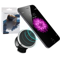 Wholesale cell phones driving for sale - Group buy Car Mount Phone Holder Air Vent Magnetic Car Mount Cell Phone Holders One Step Mounting Reinforced Magnet Easier Safer Driving With Package