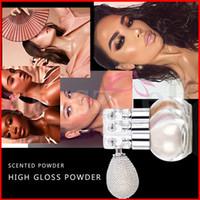 Wholesale dark blue eyeshadow for sale - Group buy Teayason Diamond Glitter Powder Spray with airbag Beauty Highlighter Shimmer Face Body Powder Eyeshadow Colors g