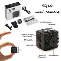 Wholesale SQ10 Mini Camera HD Night Vision Micro Camcorder Real time Record Mutiple Function For Home Car Outdoor