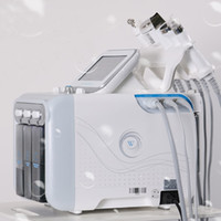 porenmaschine großhandel-5,6,7 in 1 H2-O2 Bio-Kalthammer Hydro Mikrodermabrasion Wasser Hydra Dermabrasion Spa Gesichtshaut Poren Reinigungsmaschine