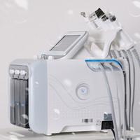 ingrosso pori macchina-5,6,7 in 1 H2-O2 bio rf martello a freddo hydro microdermabrasion water hydra dermabrasion spa macchina per la pulizia dei pori della pelle del viso