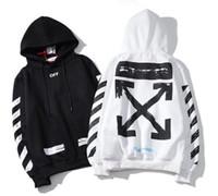 Wholesale arrow hoodie for sale – custom Brand hoodie SSOFFtheWHITE luxury SSbrand basic arrow graffiti version Sweatshirt pullover fashion men s clothing LOVE LOVE