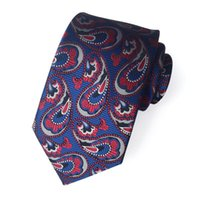 Wholesale style for man suits resale online - Hot style Men s tie casual suit professional business men s tie polyester jacquard for moq