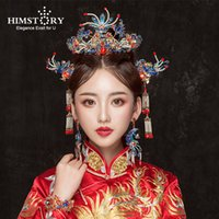 0c09d10af Wholesale ancient chinese hair accessories resale online - Himstory  Handmade Chinese Ancient Style Wedding Hairpins Retro