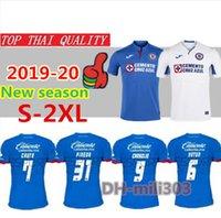 méxico futebol jersey tailândia venda por atacado-Qualidade Tailândia 2019 2020 México Clube Cruz Azul Camisas De Futebol 19/20 CARAGLIO MONTOYA MENDEZ camisas de futebol camisetas de futbol S-2XL