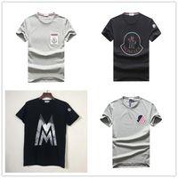 bordados blusa xl venda por atacado-Mens designer T Shirt Da Marca de Moda Homens de luxo de Manga Curta T Shirt Verão Crocodilo Bordado Mens Tees de Alta Qualidade Blusa Casual Tops