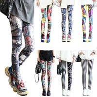 Wholesale women yoga wear pants resale online - Stretching Capri Legging Ladies Casual Seamless Print Leggings Sport Fitness Yoga Pants Jogger Wear Women Tight pants LJJA2550