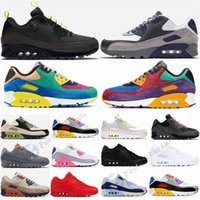 Mens 90 Shoes 2021RunningShoe 90s Lahar Escape Smoke Viotech Red Olive Camowabb Grey Be True Manchester Outdoor Trainers womens Sneakers