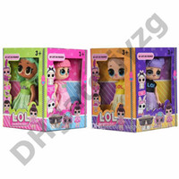 дисплей фигуры оптовых-5 ' 5 дюймов ПВХ Каваи аниме фигурки реалистичные возрождается куклы подарок 4 стили 4 шт. / дисплей коробка