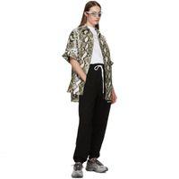 ingrosso angeli di pizzo-Pantaloni europee 19FW nuovo Palm Angeli lusso pantaloni neri in pizzo sport casuali Hip-Hopwomen E Mens Designer pantaloni HFXHKZ007