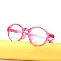 ba342061d6 anteojos marco silicona al por mayor-Gafas para niños Boy Girl Gafas  Ligeras Gafas Marco