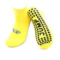 Wholesale indoor trampoline for sale - Group buy New Hot Trampoline socks for kids adults sports sox Indoor floor skidproof silicone dots sock yoga fitness workout exercise socks sizes