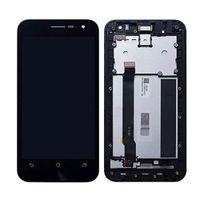 asus çerçeve toptan satış-ASUS Zenfone 2 Için toptan Orijinal LCD ZE500CL Z00D Çerçeve Değiştirme Ile LCD Ekran Dokunmatik Ekran Digitizer Meclisi Değiştirme