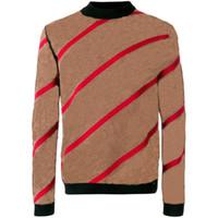 толстовки с капюшоном пуловеры оптовых-Мужской свитер пуловер мужской бренд Deisgner балахон с длинным рукавом дизайнер толстовка письмо вышивка трикотаж зимняя одежда