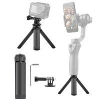 Wholesale tripod gimbal for sale - Group buy Phone Mount Folding Tripod For DJI OSMO ACTION Pocket Handheld Gimbal Camera Stabilizer Stand Portable Bracket Holder Clip Mount